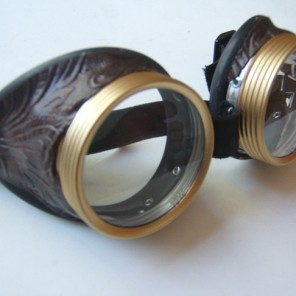 Riveted Adventurer Steampunk Goggles