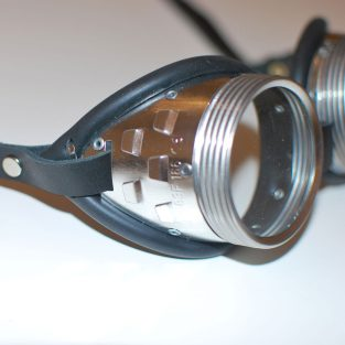 Steel Goggles - Side View