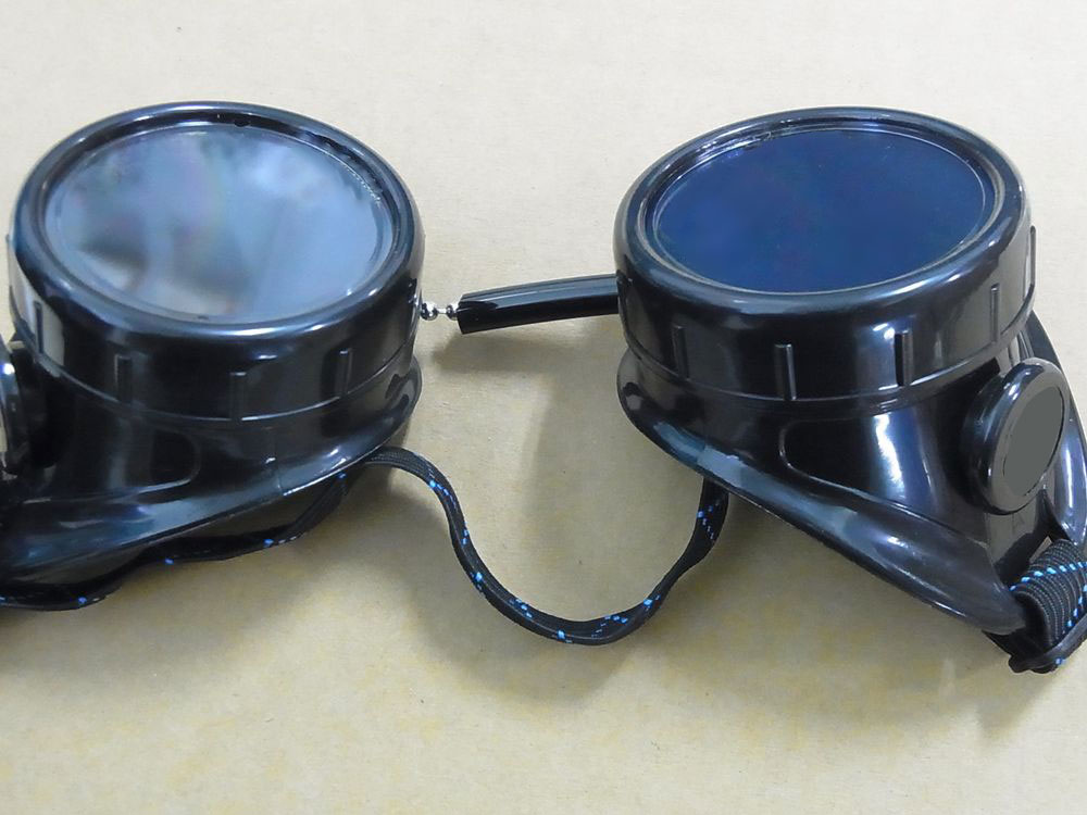 DIY Steampunk Welding Style Goggles - Single Pair