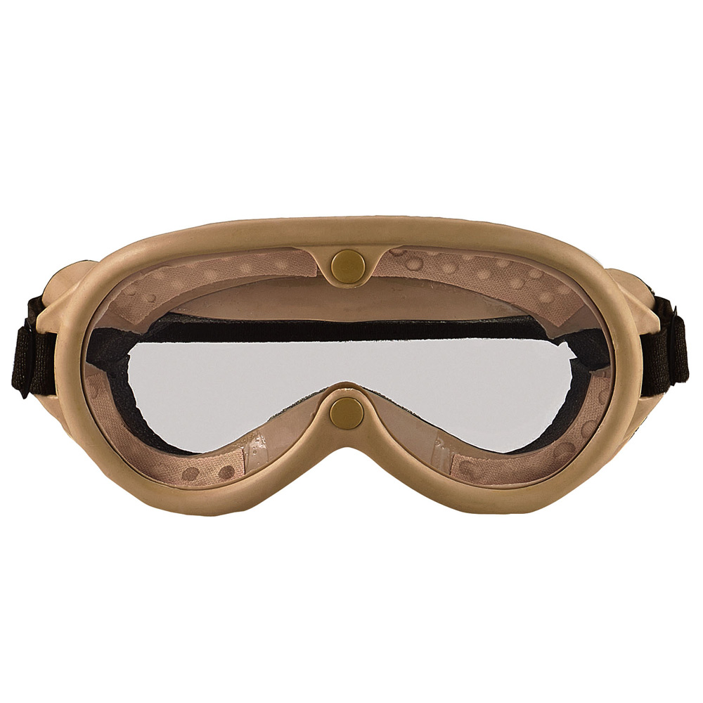 aebbad544ca World War I Aviator Goggles w  Flat Clear Lenses