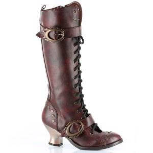 steampunk tall boots