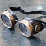 Classic Black and Bronze Compass Goggles 3