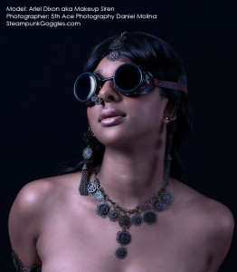 Ariel Dixon aka Makeup Siren, Shot by 5th Ace Photography Daniel Molina, 3 of 4