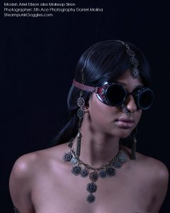 Ariel Dixon aka Makeup Siren, Shot by 5th Ace Photography Daniel Molina, 4 of 4