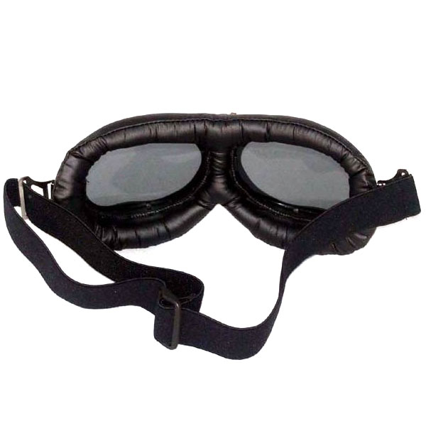 0b2d7305bd8 Black Aviator Goggles - Rear View