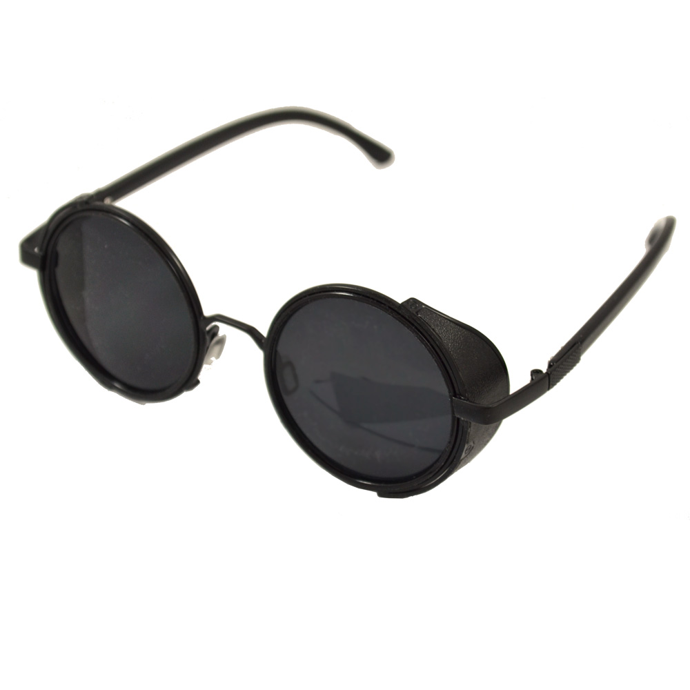 Prescription Sunglasses With Side  steampunk glasses black frames