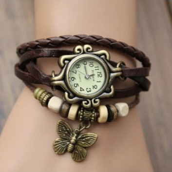 Steampunk Wrap Wristwatch for Women