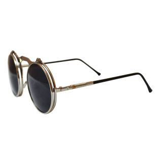 Flip Shade Sunglasses  steampunk sunglasses glasses