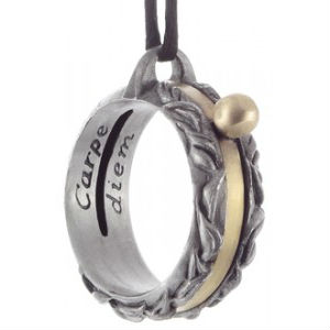 Carpe Diem Sundial Necklace