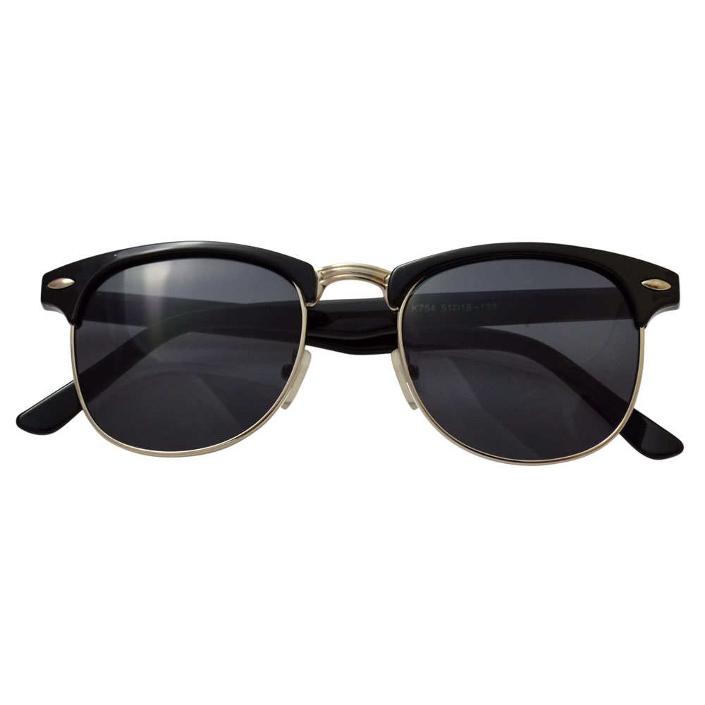 Gucci Retro Square Aviator Sunglasses, Gold/Black Details Gucci men's aviator sunglasses from the Cruise '18 Runway. Eye/bridge/temple (in mm): Lightweight metal and acetate frames.