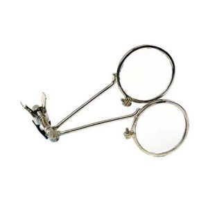 Double Lens Eye Loupe (Clip-On)