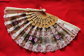 Lace Fan for a Saloon Girl