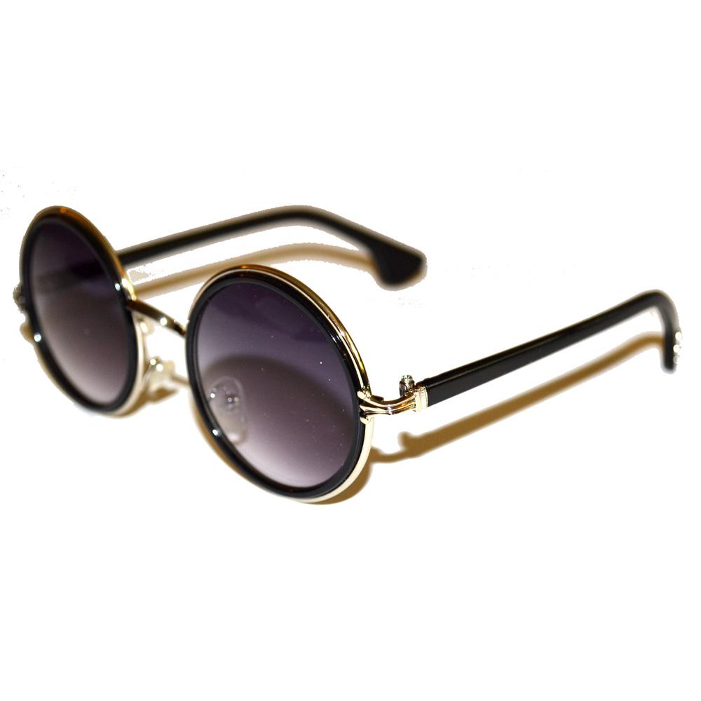3357d67385 Silver Tone Sunglasses  Flourishes