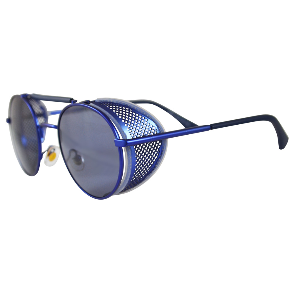 Round Sunglasses Side Shields Lewis Hamilton Thom Browne Style