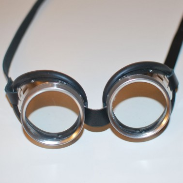 Steel Goggles - Front View