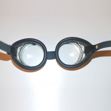 Steel Goggles - Rear View