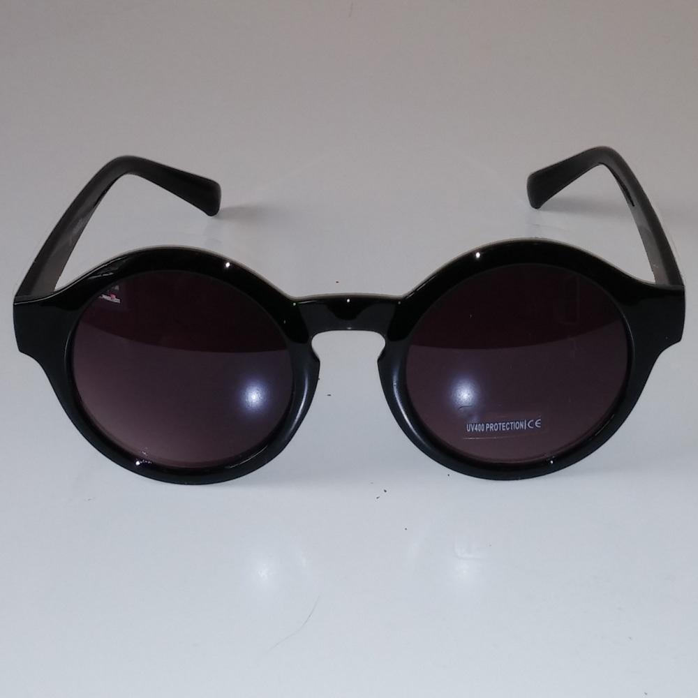 Black Plastic Steampunk Glasses