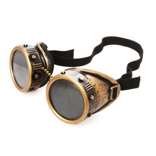 Brass Goggles With Rivets