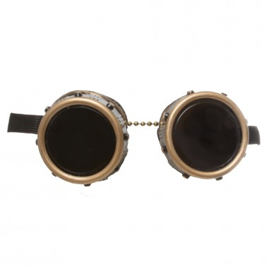 Riveted Goggles - Front