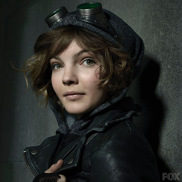 Camren B as the young Catwoman in Fox's Gotham series