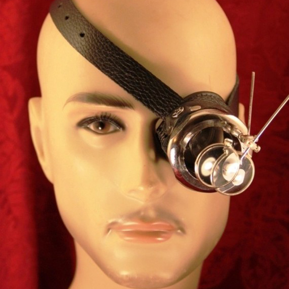 Yellow Eye Lenses Steampunk Rogue Scient...