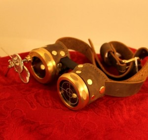 Sherlock Homes Brass Goggles