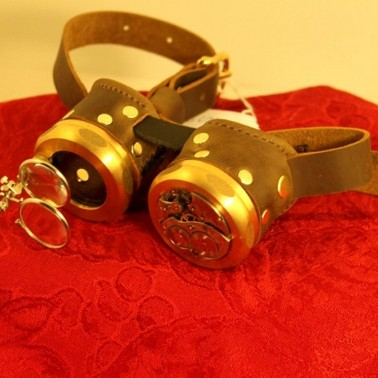 Watchmaker's Dream Steampunk Goggles