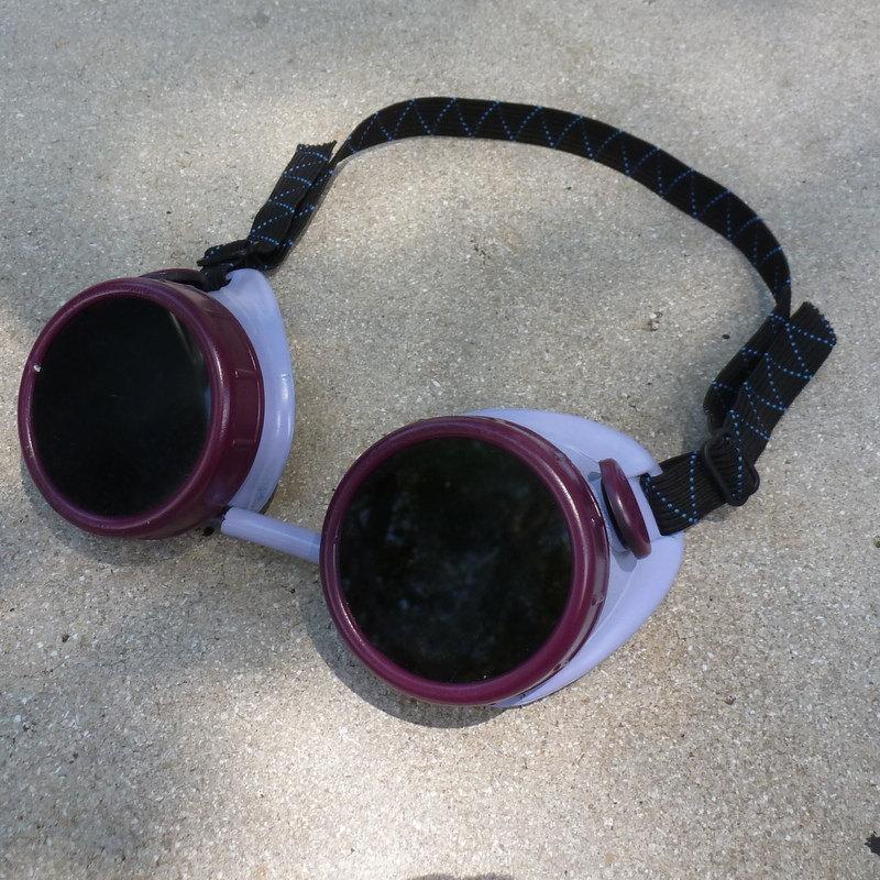 Purple Apocalypse Goggles w/ Black Lenses