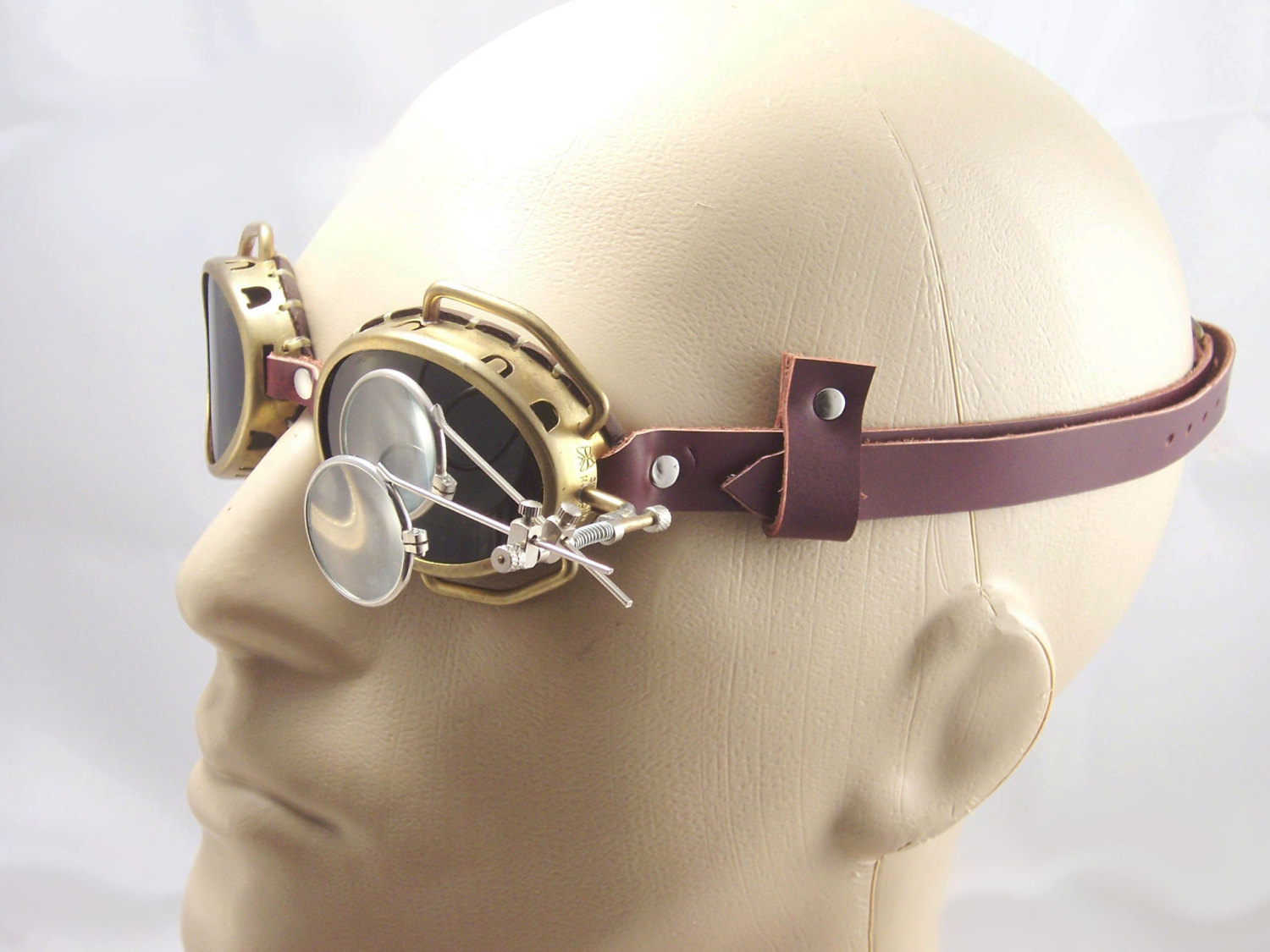 Brass Monocle Mad Scientist Cosplay LARP