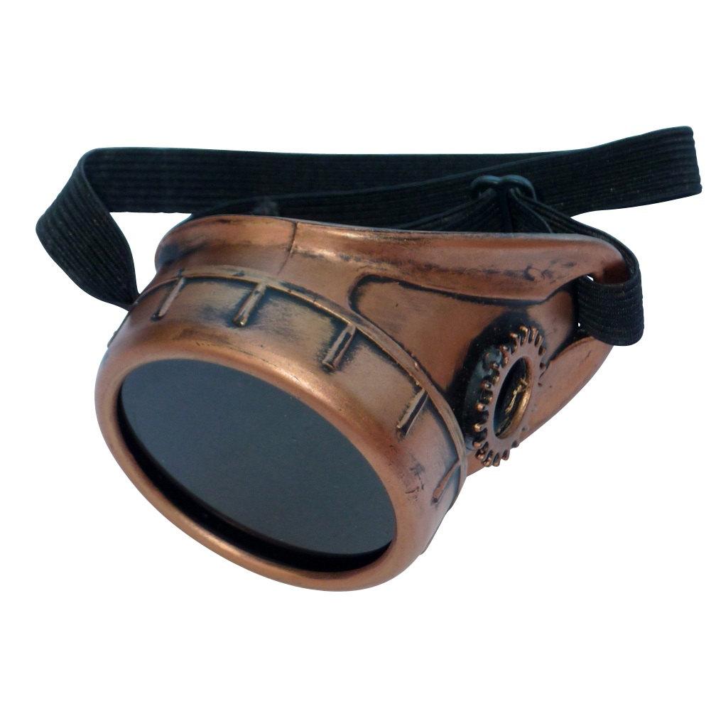 Copper Toned Monocle : Black Lenses