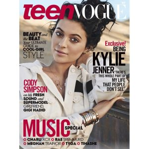 Kylie Jenner in Steampunk - Teen Vogue Cover Story, May, 2015