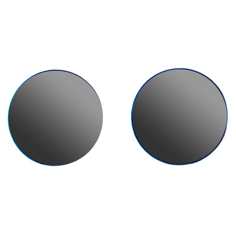 gray replacement goggle lenses - 50mm