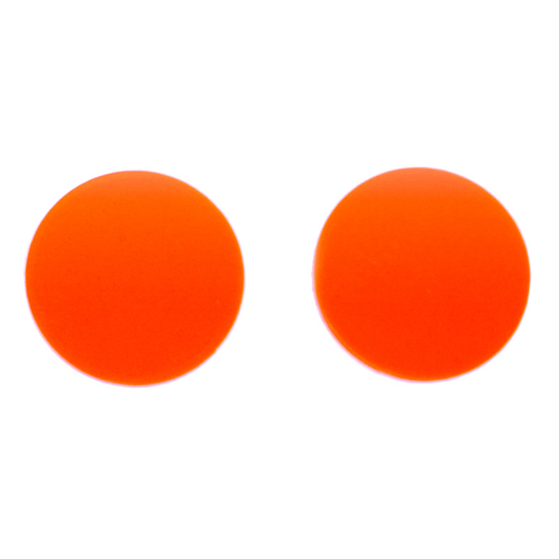 orange replacement goggle lenses - 50mm