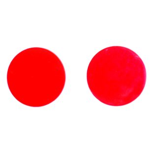 red-orange replacement goggle lenses - 50mm