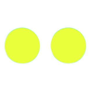 yellow replacement goggle lenses - 50mm