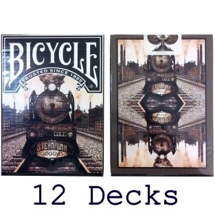 12 Decks - Limited Edition Playing Cards (Full Brick)