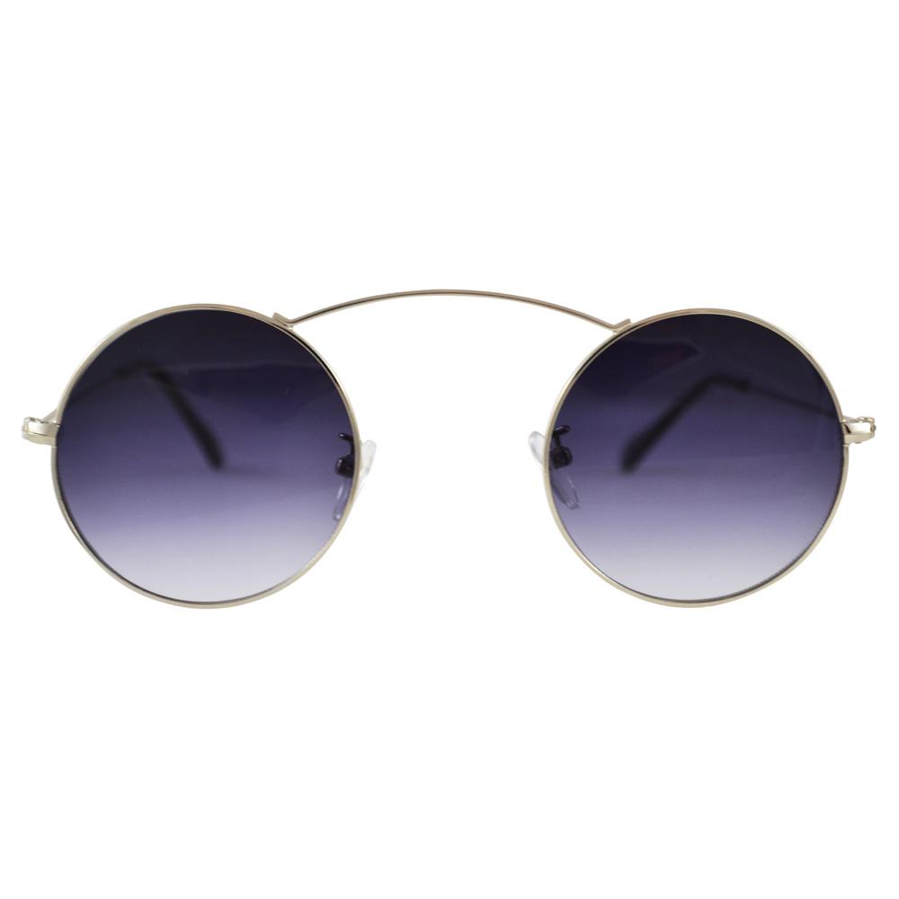 e99b736527 Minimal Circle Sunglasses  Arching Top Bar