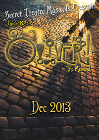 Steampunk Oliver December 6th-22nd at The Secret Theatre