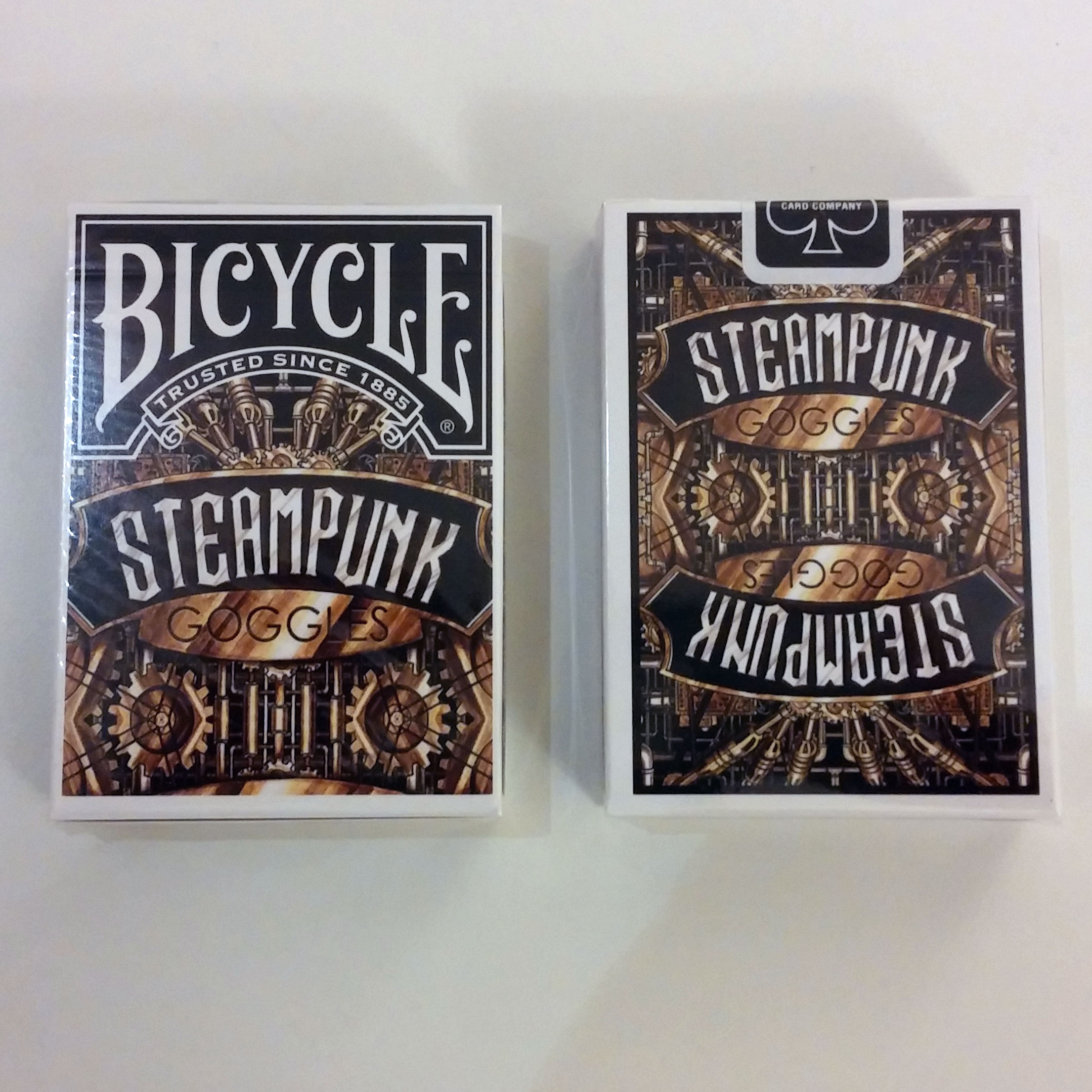 Steampunk Playing Cards - Bicycle - USPC Limited Edition