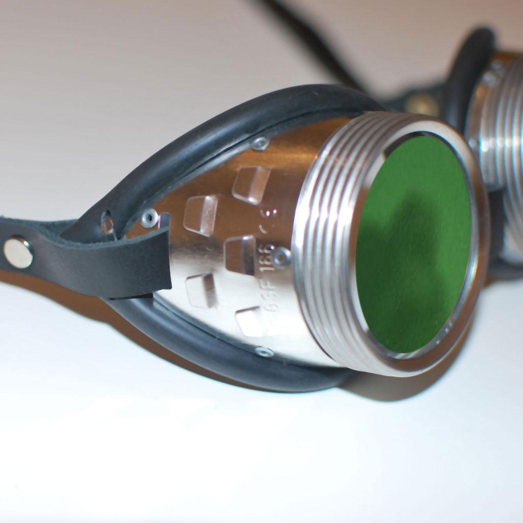 Gotham style goggles