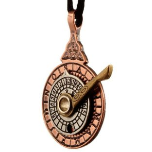 Star Dial necklace - tricolor